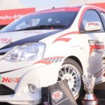 Toyota Etios Motor Racing debuts internationally at the Colombo Night Races 2012