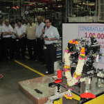GM India rolls out 100,000th engine from Talegaon facility