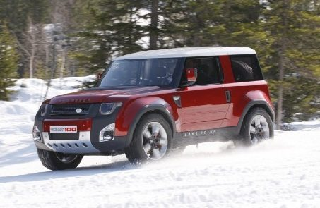 Land Rover DC100 Concept to Spawn the new Defender