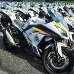 2013 Ninja 250R for the Royal Malaysian Police