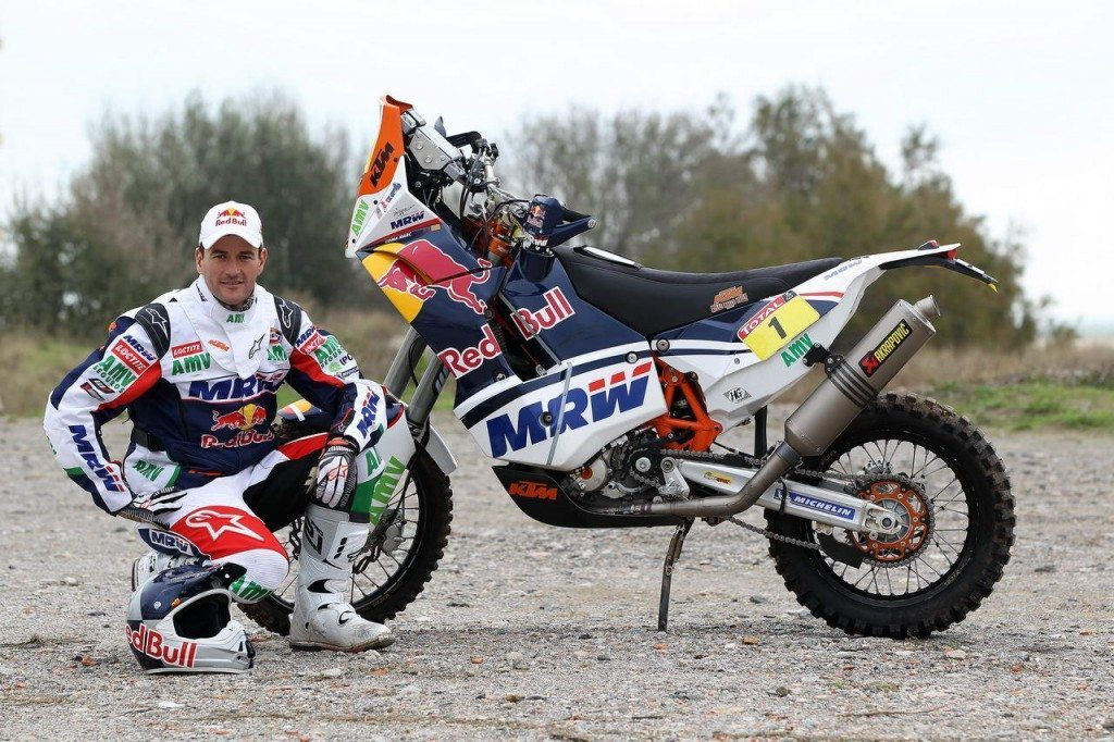 Marc Coma out of Dakar 2013