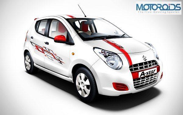 Maruti Suzuki A-Star Aktiv Launched in Indian Market