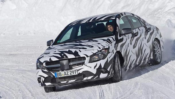 Mercedes CLA 45 AMG will be high performance CLA