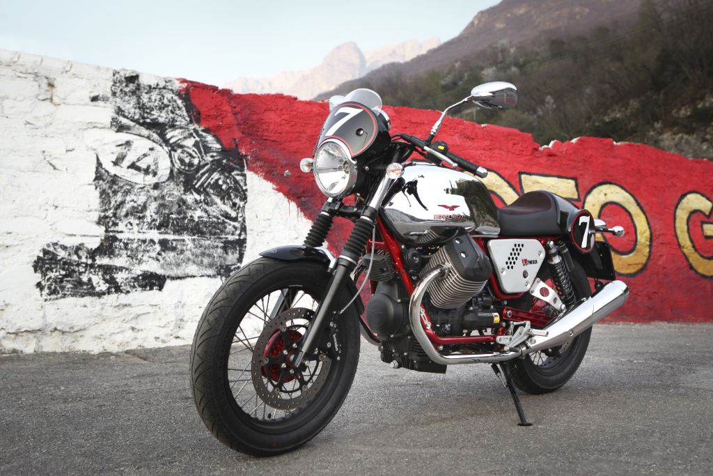 moto guzzi india launch - v7, griso and and breva models on sale