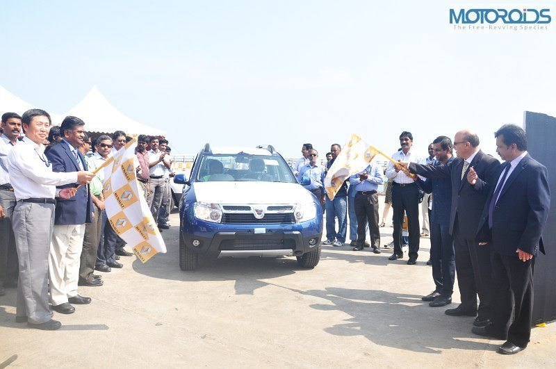 Made in India Renault Duster Heads to UK and Ireland