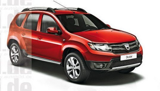 Renault Dacia Duster Facelift Rendered