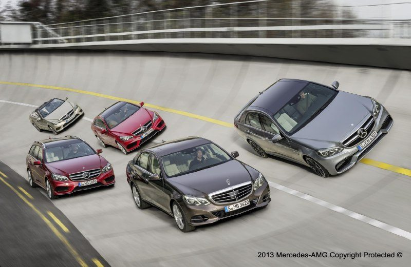 2013 Mercedes E63 AMG Revealed in an Image