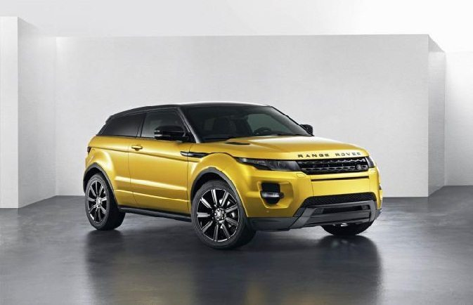 Land Rover Reveals 2013 Range Rover Evoque Sicilian Yellow Limited Edition