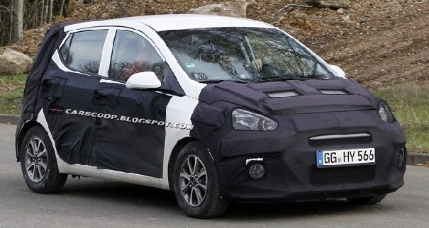We recently posted the spy pics of the next generation of Hyundai i10