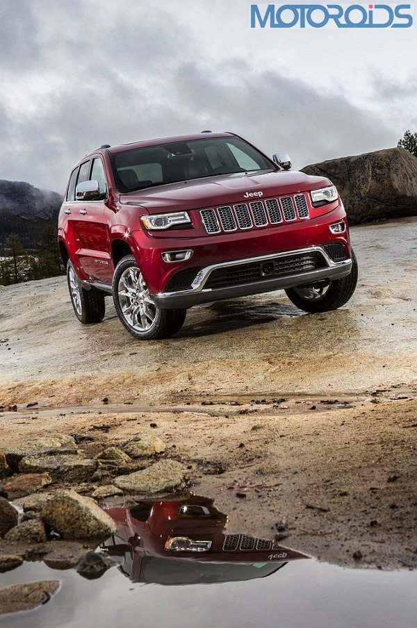 2014 Jeep Grand Cherokee Facelift Unveiled