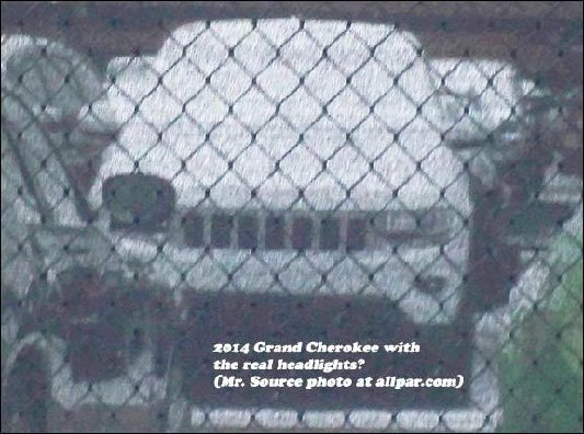 2014 Jeep Grand Cherokee Spied