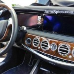 2014 Mercedes Benz S Class Interiors Spied