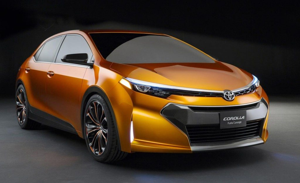 the toyota furia concept teased by toyota in their video and were