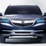 2014 Acura MDX Showcased at Detroit