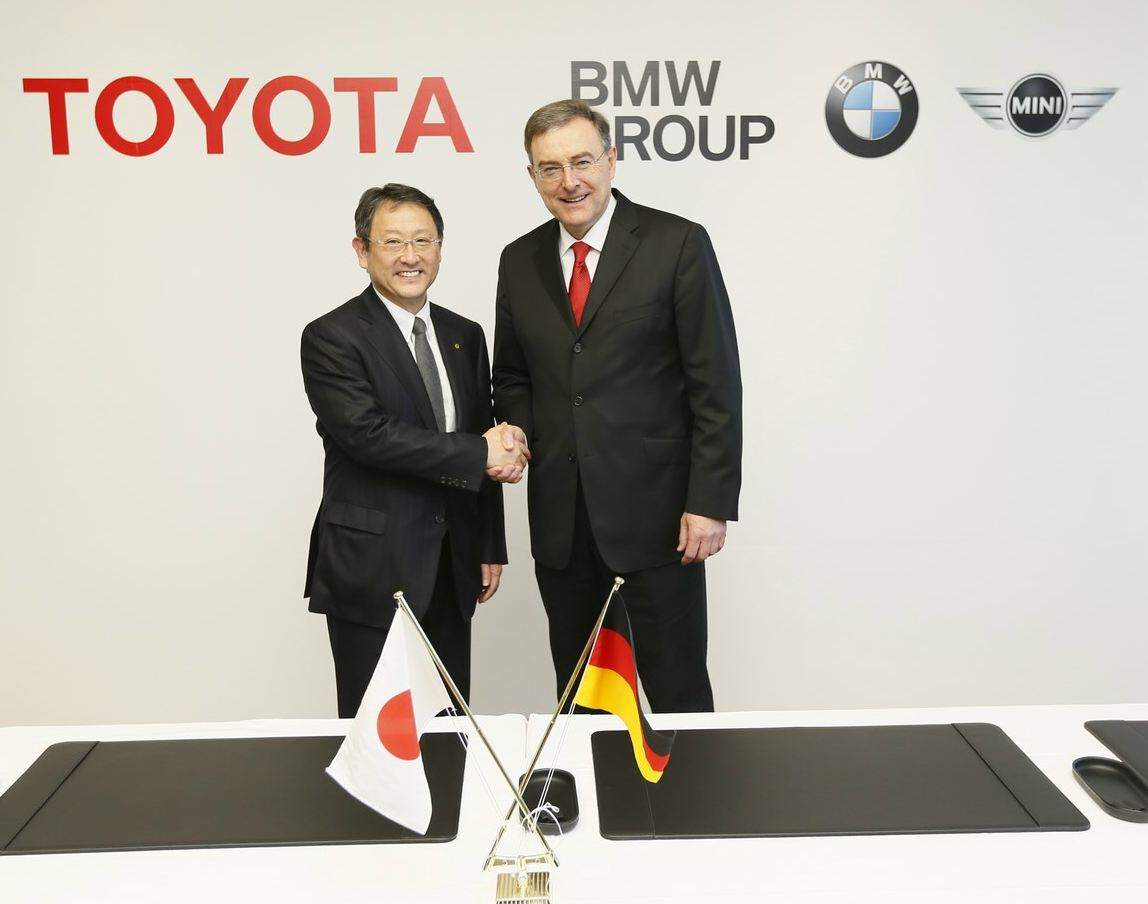 BMW-Toyota partner for sharing engines and jointly developing technologies