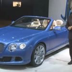 Bentley Continental GT Speed Convertible Showcased at Detroit