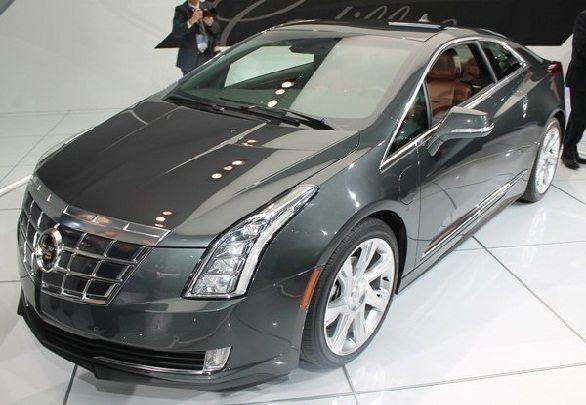 Cadillac ELR Showcased at Detroit