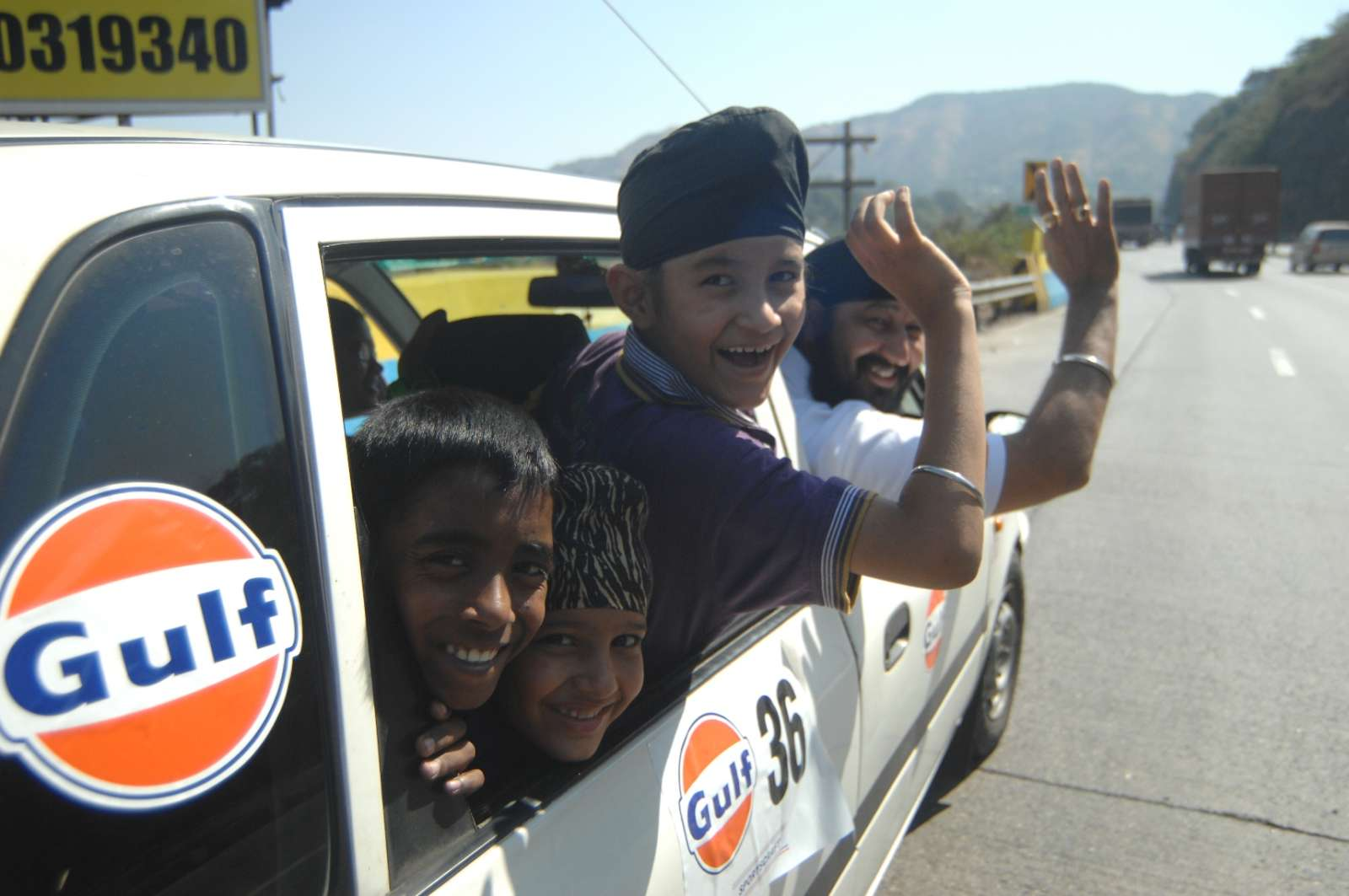 Gulf Foster a Child Car Drive 2013 energizes lives of the underprivileged