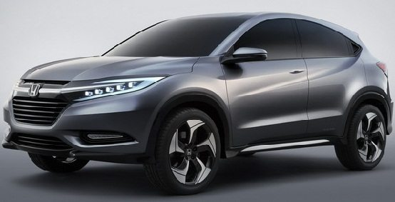 Honda urban SUV concept 1 Honda Urban SUV Concept Official Images Leaked