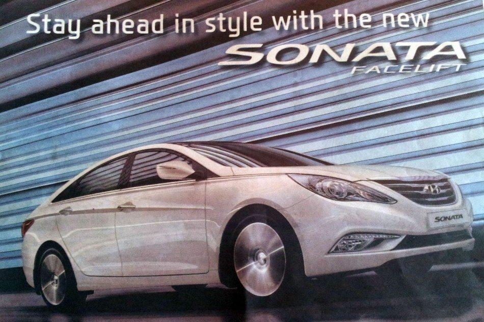 Hyundai Sonata Fluidic facelift launched in Malaysia