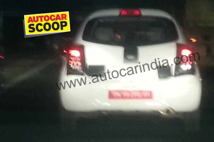 Low cost Nissan Micra caught testing, slated for March 2013 launch