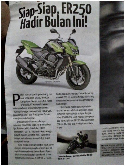 Ninja 250R Naked version launch news