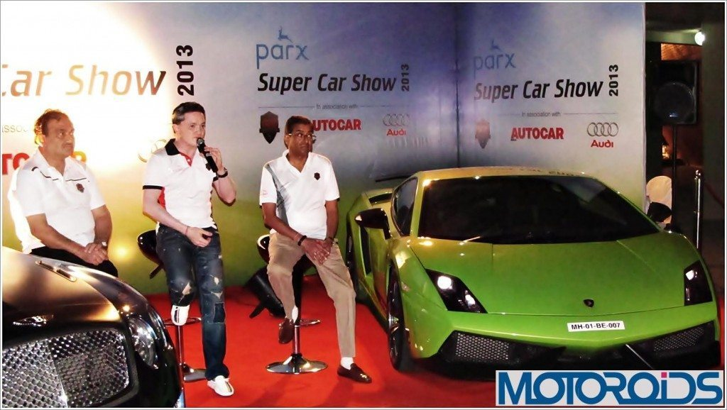 Parx Super Car Show 2013 all set to scorch Mumbai Streets