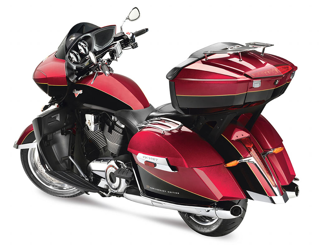 Victory Motorcycles unveils the 15th Anniversary Cross Country Tour Limited Edition