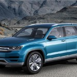 Volkswagen CrossBlue SUV Unveiled at Detroit