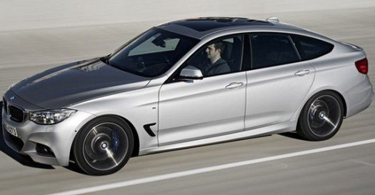 2013 BMW 3 Series GT Official Image Leaked