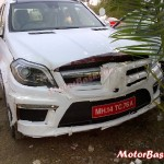 2013 Mercedes GL-Class spotted in Pune