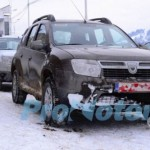 2014 Dacia Duster Spotted Testing