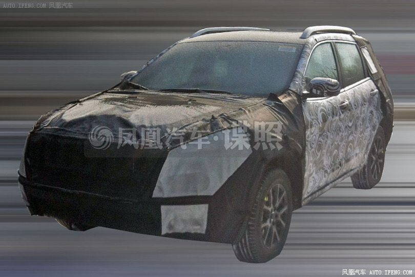 2014 Jeep Cherokee Spotted Testing