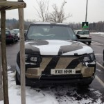 2014 Range Rover Sport Spotted Testing.