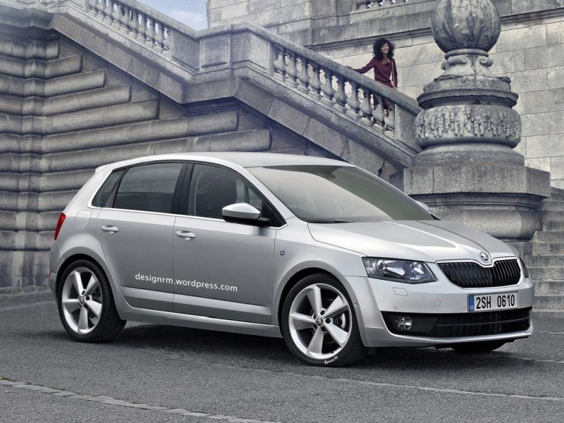 2014 Skoda Fabia to be Unveiled in late 2013
