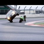 Video: Watch Ninja ZX-10R 'Undertake' the Alfa Romeo Mito