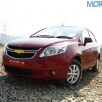 GM India Aims to Sell 48000 units of Chevrolet Sail sedan in 2013