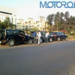 Jeep Wrangler and Grand Cherokee Spotted in Pune. Caught Testing?