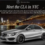 Mercedes CLA45 AMG to debut at New York Auto Show
