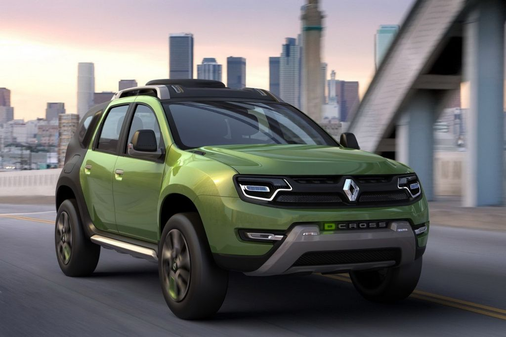 2013 Renault Duster facelift to be Unveiled at Geneva