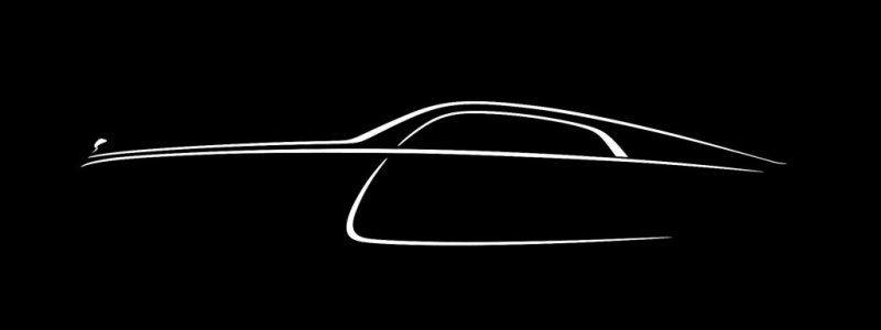 Final Teaser Image of Rolls Royce Wraith