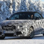 2014 BMW 2 Series Convertible Caught Testing