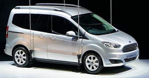 2014 Ford Touneo Courier to debut at Geneva