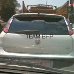 Fiat Punto Abarth Evo Spotted testing in India