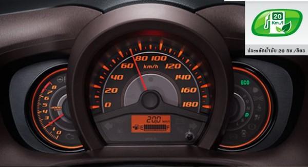 2013-Honda-Brio-Amaze-Compact-Sedan-Instrumentation-Console
