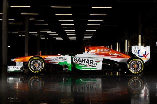 Sahara Force India F1 on 2013 Formula 1 Rolex Australian Grand Prix