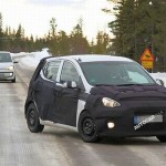 2014 Hyundai i10 being benchmarked against VW Up!