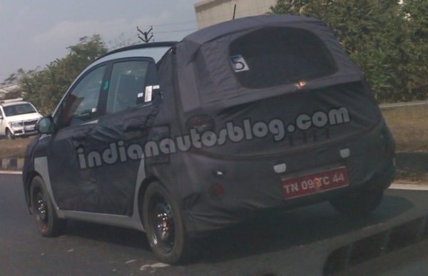 2014 Hyundai i10 Spotted Testing in India