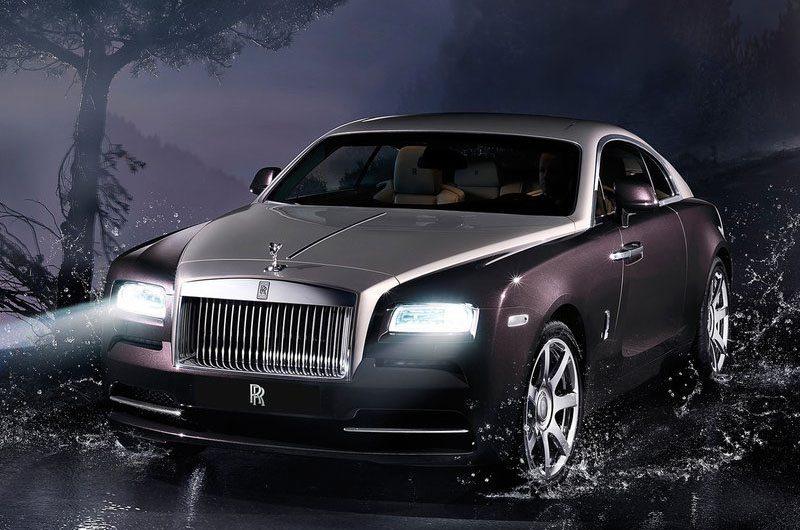 Rolls Royce Wraith Showcased at Geneva
