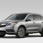 Production spec 2014 Acura MDX showcased at New York